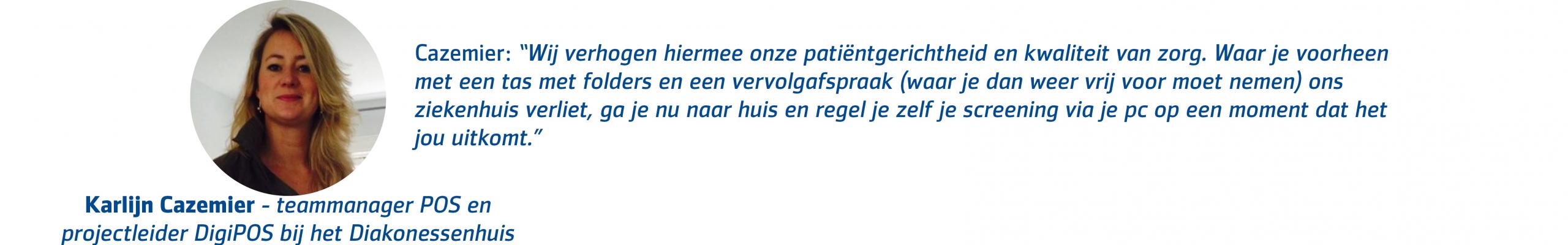 Karlijn Cazemier - Diakonessenhuis quote