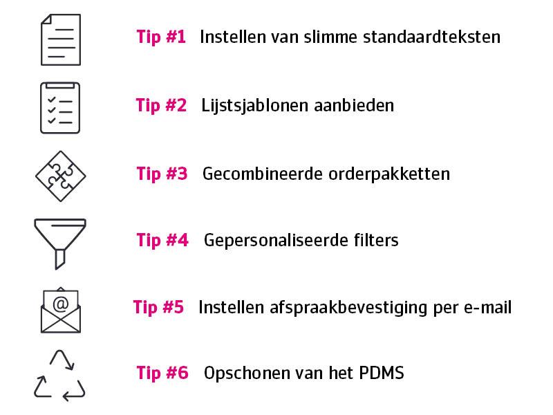 Zes tips EPD optimalisatie PinkRoccade Ziekenhuizen